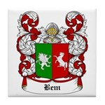 Bem Coat of Arms Tile Coaster