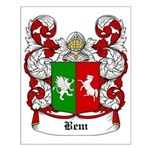 Bem Coat of Arms Small Poster