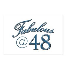 Fabulous at 48 Postcards (Package of 8)