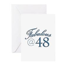 Fabulous at 48 Greeting Cards (Pk of 10)