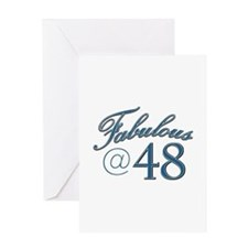 Fabulous at 48 Greeting Card