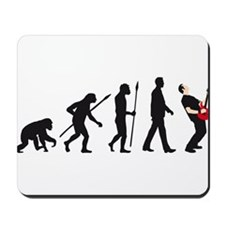 evolution e-guitar player Mousepad