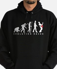 evolution e-guitar player Hoodie