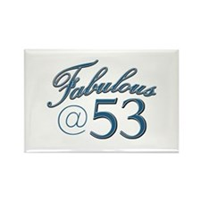 Fabulous at 53 Rectangle Magnet (10 pack)