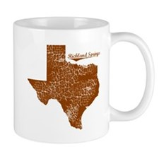 Richland Springs, Texas. Vintage Mug