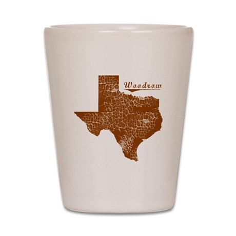 Woodrow, Texas (Search Any City!) Shot Glass