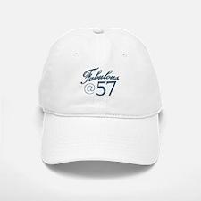Fabulous at 57 Baseball Baseball Cap
