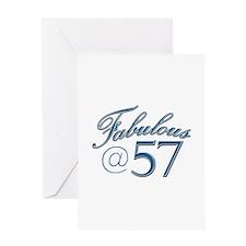 Fabulous at 57 Greeting Card