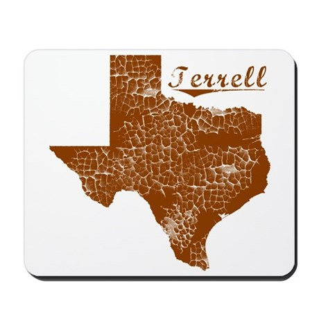 Terrell, Texas (Search Any City!) Mousepad