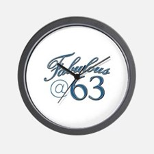 Fabulous at 63 Wall Clock