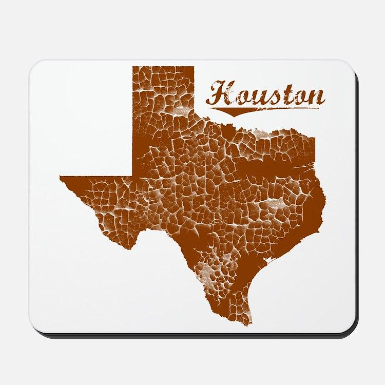 Houston, Texas (Search Any City!) Mousepad