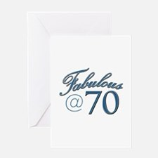 Fabulous at 70 Greeting Card