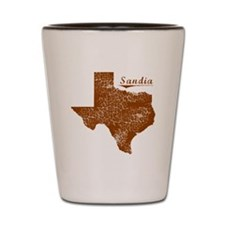 Sandia, Texas (Search Any City!) Shot Glass