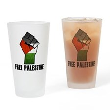 Unique Palestine Drinking Glass