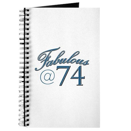 Fabulous at 74 Journal