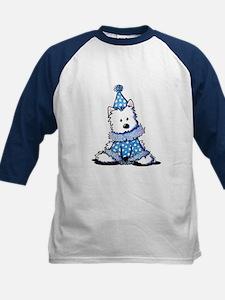 Blue Clown Westie Tee
