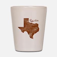 Austin, Texas (Search Any City!) Shot Glass