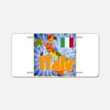 italy Aluminum License Plate