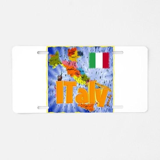 italy Aluminum License Plate