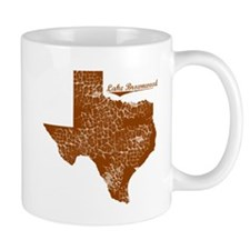 Lake Brownwood, Texas. Vintage Mug