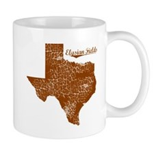 Elysian Fields, Texas. Vintage Mug