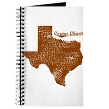 Corpus Christi, Texas. Vintage Journal