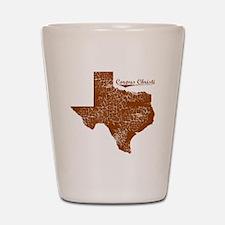 Corpus Christi, Texas. Vintage Shot Glass