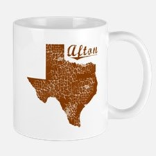 Afton, Texas (Search Any City!) Mug