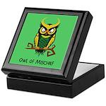 Owl of Mischief Keepsake Box