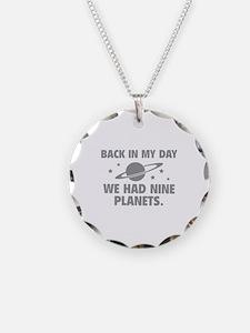 We Had Nine Planets Necklace