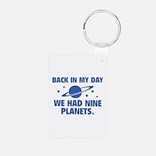 We Had Nine Planets Keychains