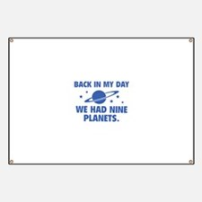 We Had Nine Planets Banner