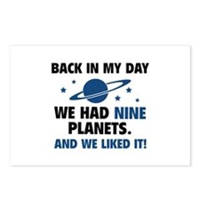 We Had Nine Planets Postcards (Package of 8)