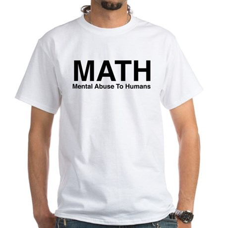 MATH White T-Shirt