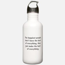 Make The Best Of Everything Water Bottle