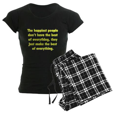 Make The Best Of Everything Women's Dark Pajamas