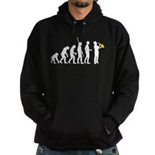 evolution saxophone player Hoodie