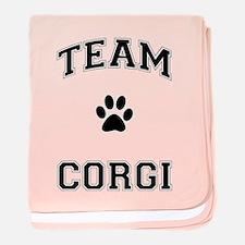 Team Corgi baby blanket