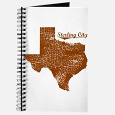Sterling City, Texas. Vintage Journal