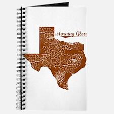 Morning Glory, Texas. Vintage Journal