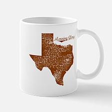 Morning Glory, Texas. Vintage Mug