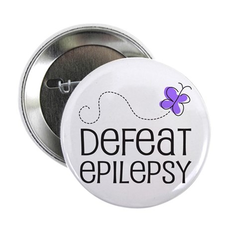 "Defeat Epilepsy 2.25"" Button (10 pack)"
