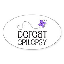 Defeat Epilepsy Decal