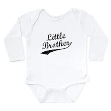Cute Siblings Long Sleeve Infant Bodysuit