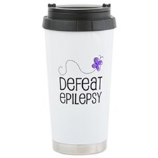 Defeat Epilepsy Ceramic Travel Mug