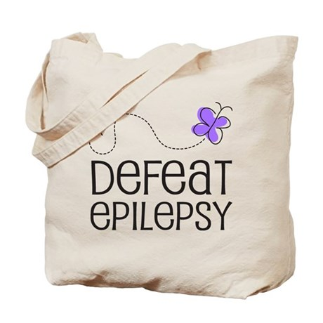 Defeat Epilepsy Tote Bag