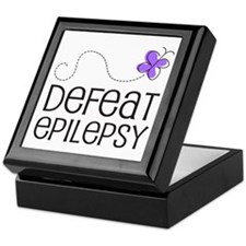 Defeat Epilepsy Keepsake Box