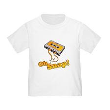 Oh Snap 80's Cassette Tape T-Shirt
