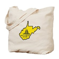 Don't Tread on Me - WV Tote Bag