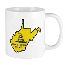 Don't Tread on Me - WV Mug